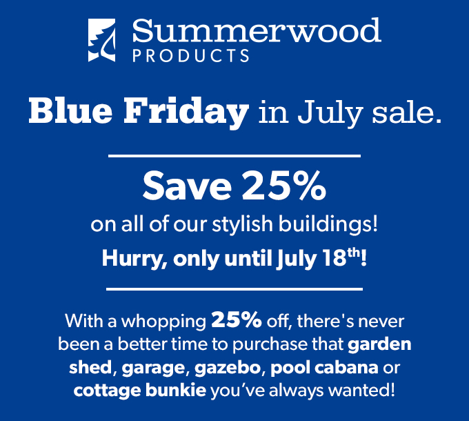 Summerwood Products Sale