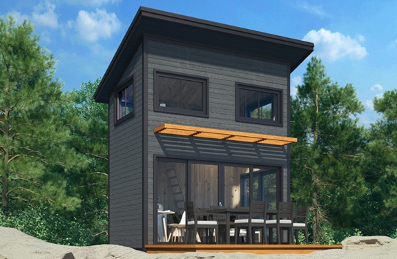 Summerwood Products Cabins 8' x 13' Nomad