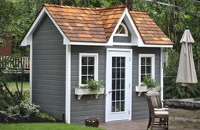 Summerwood Products Garden Shed 6' x 12' Copper Creek