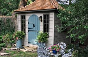 Summerwood Products Garages 10' x 10' Melbourne Garden Shed