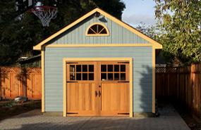 Summerwood Products 14' x 20'  Highlands Garage