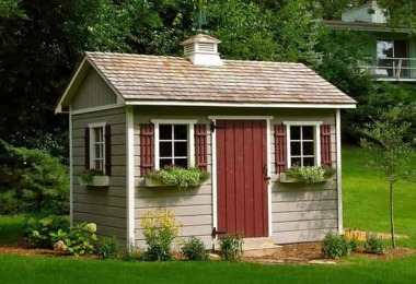 a summerwood original the palmerston shed design brings elegant backyard style to all your storage needs