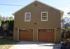 Bishop garages 24 x 28 garage kits plans designs for Prefab garage apartment packages