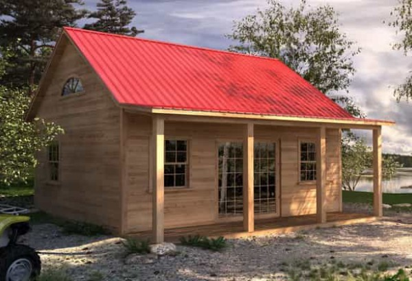 Stylish prefab cabin kits for sale build your dream for Cottage plans with loft canada