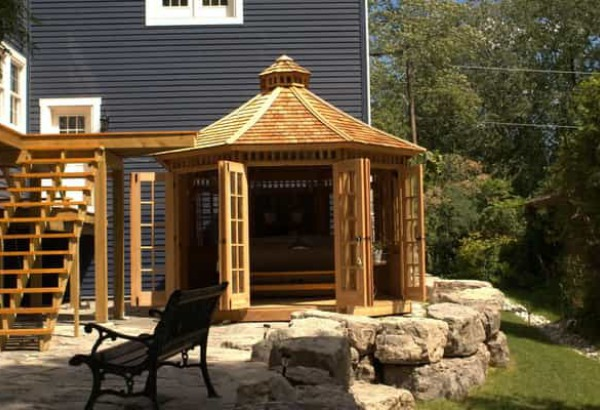 Cedar Champlain Spa Enclosures Summerwood ID number 119533