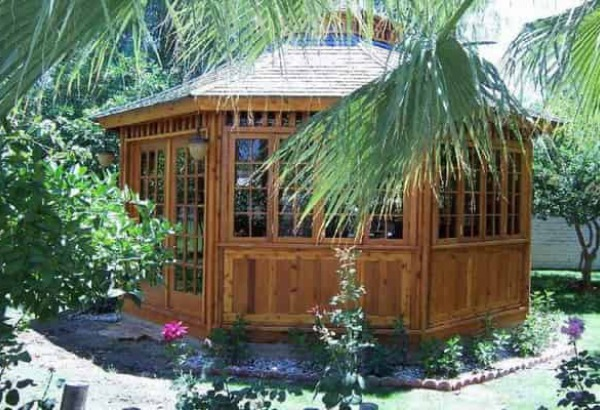 San Cristobal Spa Enclosures Summerwood ID number 9760