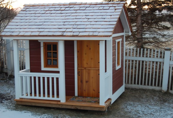 Cedar Peach Pickers Porch Playhouses Summerwood ID number 160
