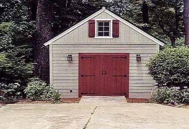 Urban garage design summerwood for Prefab garage apartment packages