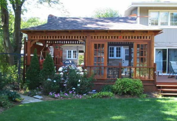 Modern and Clic Home Studios - Upgrade Your Backyard on cedar home design, cedar shed design, cedar greenhouse design,
