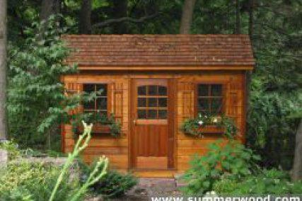 Wood Shed Plans Kits