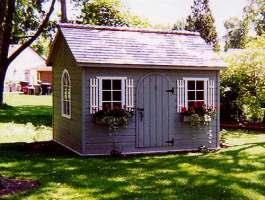 Palmerston Garden shed designs with cedar Summerwood ID number 11.