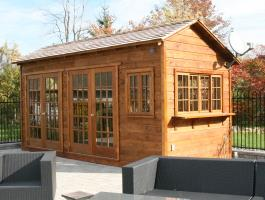 Backyard Bar Harbor shed kit with cedar in Milton, Ontario. ID number 118378.