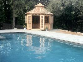 San Cristobal  Pool Cabana with cedar Summerwood ID number 180675.
