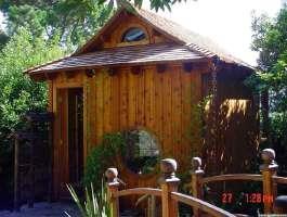 Bali Tea House Garden Backyard Studio With Cedar Summerwood ID Number  200810.