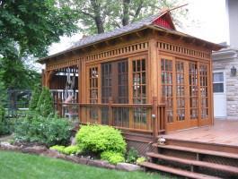 Bali Tea House Garden Backyard Studio With Cedar Summerwood ID Number  200815.