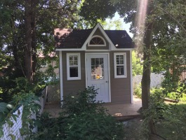 6ftx10ft Copper Creek shed in North York, ON