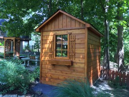 6ft x 8ft Palmerston Garden Shed in Chesterfield, MO.