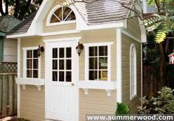 Copper creek garden sheds summerwood sheds kits for Windsor garden studio