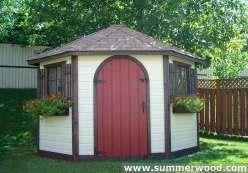 Summerwood sheds kits toronto ontario for Windsor garden studio