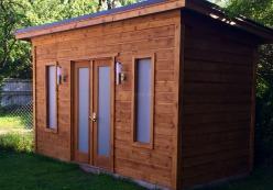Urban studio garden sheds summerwood sheds kits for Windsor garden studio