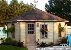 Catalina Prefab Sheds Summerwood Pool Cabanas Kits