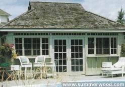 Summerwood Pool Cabanas Kits Chappaqua Ny