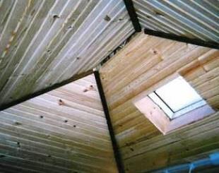 Summerwood Options   Interior Cedar Ceiling (Rough Channel)u0027 Sample Photos