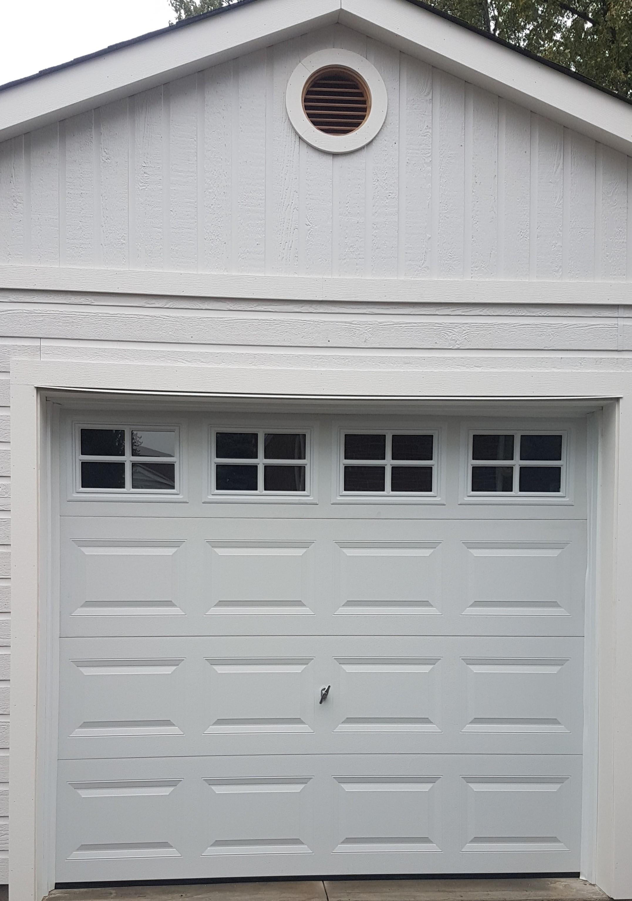 GD2200 S   Steel Insulated Garage Door With Stockton Window