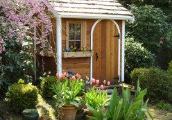 Palmerston shed kit 5x7 with opening window in Issaquah Washington. ID number 54973-3.