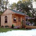 glen echo cabin 10x14 cabin with deluxe single door in Toronto Ontario. ID number 1089-2.