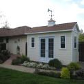 Cedar Palmerston shed 6x14 with French double doors in Roseville, California. ID number 109757-4
