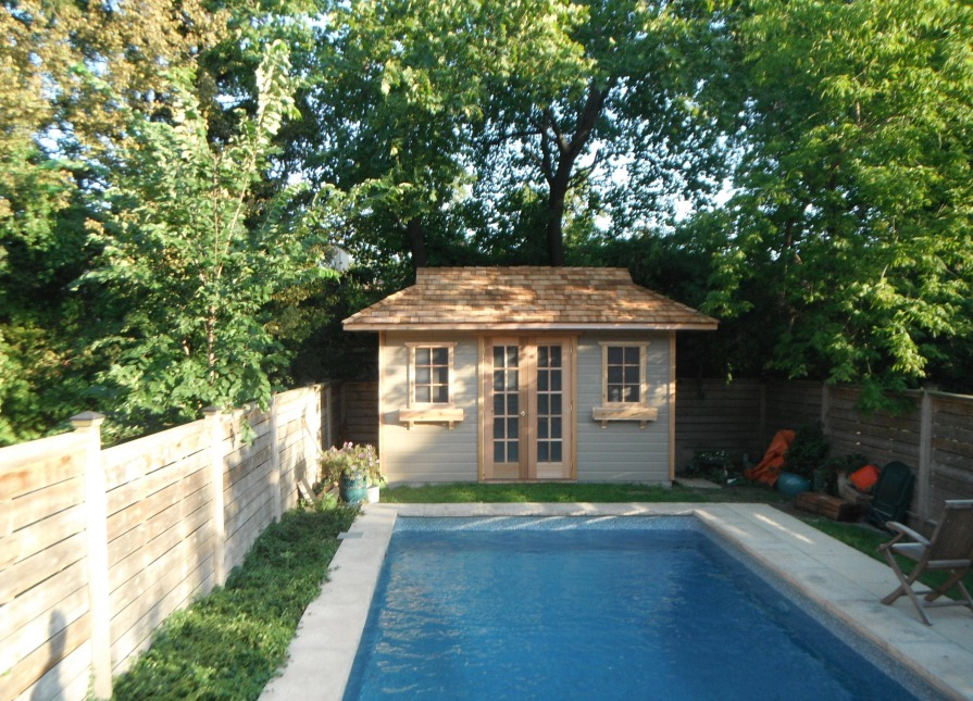 Santa Cruz Pool Cabana Kit In Toronto Ontario 135069