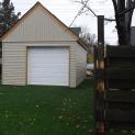 Montcrest garage kits 14x24 with double casment vinyl windows in Cambridge,Ontario.ID number 154973-