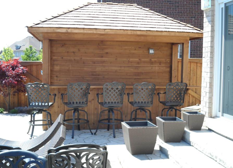 Barside Cabana Oakville On Summerwood Products