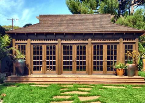Bali Tea house Gazebo | Summerwood Tea House Design Cedar on cedar home design, cedar shed design, cedar greenhouse design,