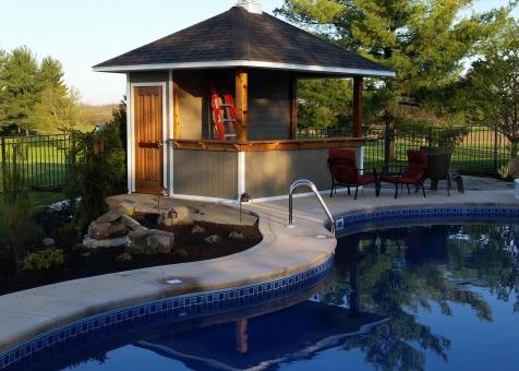 Barside Pool Houses 12x12ft