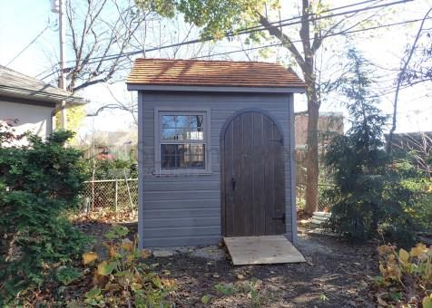 palmerston garden shed 8x8 with arched single door in worthington ohio - Garden Sheds Ohio