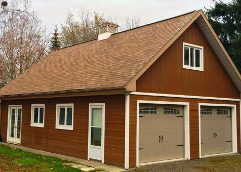 Alpine garage 24x38 with metal deluxe solid doors. In Toronto Ontario. ID number 195952-1.