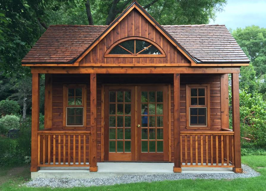 Canmore Cabin Kit In Scarborough Ontario