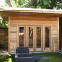 Verana storage shed 8x14 with single french door in Toronto Ontario. ID number 166386-1.