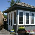 Coventry spa enclosure 10x10 with painted finish in El Cajon,California.ID number 152813-3.