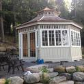 Cedar San Cristobal Gazebo 20ft with Custom options in Combermere Ontario 206902- 1