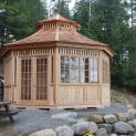 Cedar San Cristobal Gazebo 20ft with Custom options in Combermere Ontario 206902- 2