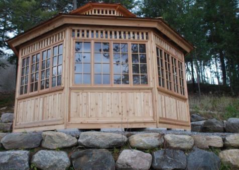 Cedar San Cristobal Gazebo 20ft with Custom options in Combermere Ontario 206902- 3