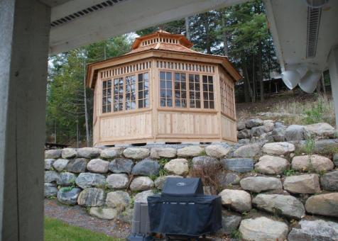 Cedar San Cristobal Gazebo 20ft with Custom options in Combermere Ontario 206902-4