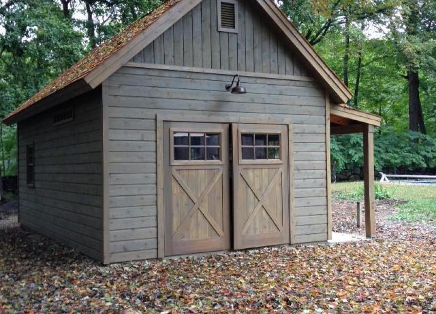 Montcrest Garage Garrison New York Summerwood