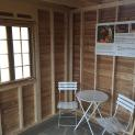 Custom Bala bunkie 10 x 10 with Large Sliding Clear Window in Toronto Ontario. ID Number 207284 -3