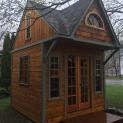 Custom Bala bunkie 10 x 10 with Large Sliding Clear Window in Toronto Ontario. ID Number 207284 -2