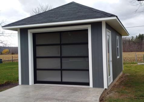 Archer garage in grimsby ontario for Prefab garage ontario
