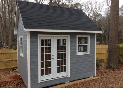 Superieur Garden Sheds. Copper Creek Backyard Shed. Marietta, Georgia. Configuration  ID#: 208856